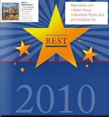 Voted Among the Best Area Bed & Breakfast Inns